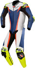 Alpinestars GP Tech One-Piece Leather Suits V3 BLACK BLUE WHITE RED FLO YELLOW