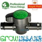 19mm Green Back Valve Antelco Barbed Large Fitting Garden Irrigation Connector