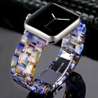 Wristwatch Band Strap bands For Samsung Galaxy Watch Active Tortoise Shell Resin image