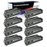 8 PK CF280X 80X Toner Cartridge Compatible For HP LaserJet Pro 400 M401n M401dw