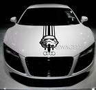 Stormtrooper Hood Stripe Pickup Truck  Sticker Sport Car Star Wars Unofficial $17.99 USD on eBay