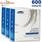 Visumall Lens Cleaning Wipes Eyeglasses Phone Optical Lenses Cleaner 100,200,600