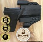 Burly Man Tactical Fits GLOCK G20 G21 Kydex IWB AIWB Holster Black and Red