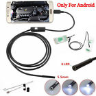 For Android iPhone WIFI Endoscope Waterproof Borescope Inspection Camera 8  HFUK