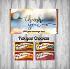 Personalised Chocolate Bar - Thank You - Good Neighbour friend Family Partner