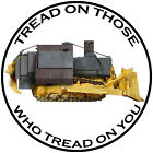 Killdozer Round Sticker Decal (Select your Size)