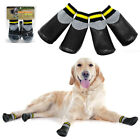 Anti Slip Dog Shoes Waterproof Dog Boots Paw Protector with Reflective Straps