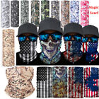 Face Protective Head Face Mask Mens Womens Neck Gaiter Tube Bandana Scarf Snood