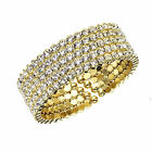 Womens Ladies Fashion Accessories Jewelry Bangle Bracelet 3 Plating Options
