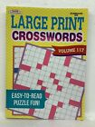 "CROSSWORDS PUZZLE BOOK LARGE PRINT ""MADE IN USA"" NEW CROSSWORD FUN Assorted"