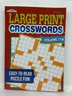 """CROSSWORDS PUZZLE BOOK  LARGE PRINT  """"MADE IN USA""""  NEW  CROSSWORD FUN Assorted"""