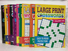 Crossword Puzzle Book Large Print New Assorted Easy to Read Kappa (U-PICK ) New