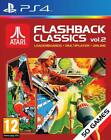 Atari Flashback Classics Collection Vol.1 & 2 Games Bundle For PS4 NEW SEALED