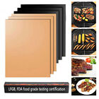 5PCS Non stick BBQ Grill Mat Baking Pad Teflon Cooking Plate Barbecue Party Tool