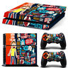 Rick And Morty PS4  Skin for PS4  Console & 2 Controllers
