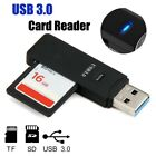 High Speed USB 3.0 SD TF Memory Card Reader Multi Adapter for PC Laptop Spirited