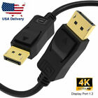 DisplayPort 1.4 8K HDR 60HZ Cable,Display port to DP 1.2 Cable 4k cord 6/10/15ft