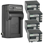 Kastar Battery AC Wall Charger for BP-2L24 NB-2L24 & Canon Optura 60 Optura 50