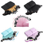 Kyпить 32pcs Professional Makeup Brush Set Cosmetic Eyebrow Shadow Brush& Pouch Bag на еВаy.соm