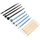 13PCS Ball Stylus Dotting Tools Clay Pottery Modeling Rock Painting Sculpting GS image