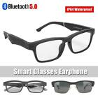 Bluetooth 5.0 Smart Glasses Polarized Sunglasses Earphone Music Audio Headset