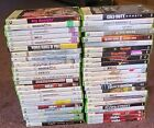 XBOX 360 Games Lot - Assorted Pick and Choose - Great Condition!