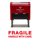 Kyпить FRAGILE HANDLE WITH CARE Self Inking Rubber Stamp на еВаy.соm