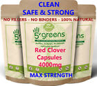 Red Clover Capsules 4000mg 8% Isoflavones ( 32 mg) Strongest & Effective Clean