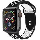 new Silicone Sport Band 38/40mm 42mm 44mm For Nike+ Apple Watch Series 1 2 3 4 5