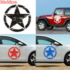 Graphic  Military Auto Decal Army Star Vinyl Car Hood Sticker For Jeep Wrangler