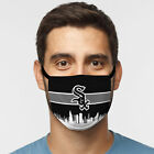 Chicago White Sox Face Mask - Skyline Design - Comfortable, Washable, Reusable on Ebay