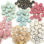26pcs Letter Alphabet Charms Initial Letter Bracelet Jewelry Diy Craft Makia!