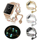 40/44mm Luminous Pearl Strap Women Bracelet iWatch Band for Apple Watch 5 4 3 2 image
