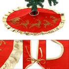 Christmas Tree Skirt Stands Base Floor Mat Home Xmas Party Decorations  H