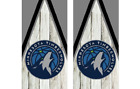 2 Minnesota Timberwolves Cornhole Wraps -Pair of Board Decals - BASKETBALL - NBA on eBay