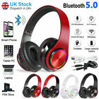 Wireless Headphones Bluetooth Headset Noise Cancelling Stereo Earphones Over Ear