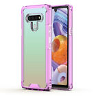 For LG Stylo 6 Phone Case Transparent Clear TPU Bumper Hard PC Back Cover