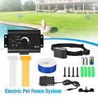 Waterproof Shock Collar Electric Dog Pet Fence System for 1/2/3 dogs Wireless US