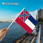 Mississippi Flag House Banner Grommets 2 Size Choose