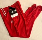 ADIDAS MENS SMALL GK GYMNASTIC COMPETITION RED STIRRUP PANTS Sz AS WAS $61.99!