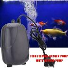 220V Aquarium Air Pump Marine Fish Tank Single/Twin Outlet Durable Valve L7V7