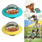 Dog Cat Feeder Toys Food Dispenser Treat Flying Disc Toy Interactive IQTraining