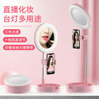 Dimmable Ring Light 10 inch LED Selfie W/ Tripod Stand With Selfie Makeup X5Y8