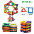 Portable Magnetic Building Blocks, Mini Magnet Tiles Set For Toddlers Kids AU