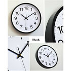 12 inch Large Digital Display Wall Clock Non-ticking Home + Office Bedroom Decor