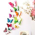 3d Butterfly Wall Sticker Art Magnetic Decals Removable Kids Room Home Decor Us
