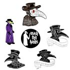 Brooch Punk Collection Plague Doctor Gothic Hell Enamel Pins Brooch Badge Gifts