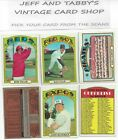 Внешний вид - 1972 TOPPS BASEBALL 360 TO 773 YOU PICK FROM SCANS