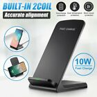3 in 1 Wireless Charger Fast Charging Dock Station For iPhone 8 X 11 Apple Watch