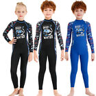 Boys  Girls One Piece Wetsuits Children Rash Guards UPF50 Sun Protection 526